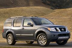 Nissan Pathfinder 2008 года