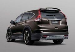 Модернизированная Honda CR-V с предиктивным круиз-контролем
