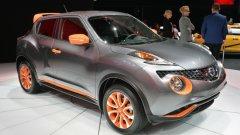 Новая серия японской компании Nissan - кроссовер Juke