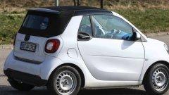 Smart Fortwo Cabrio 2016 – самый маленький кабриолет