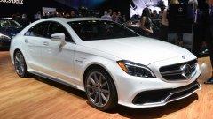 Премьера Mercedes-Benz CLS
