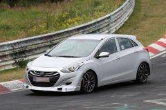Hyundai тестирует заряженную версию i30