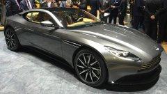 Новый Aston Martin DB11 показали в России