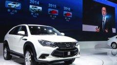 BYD Tang Hybrid SUV – внедорожник из Китая